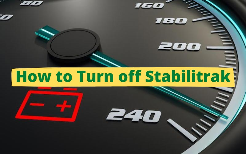 How to Turn off Stabilitrak